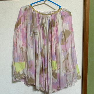 ツモリチサト(TSUMORI CHISATO)のツモリチサト シルクスカート(ひざ丈スカート)