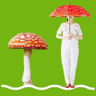 フェリシモ(FELISSIMO)のレア ベニテングタケ日傘 YOU+MORE! フェリシモ(傘)