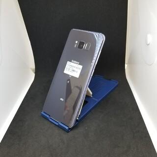 サムスン(SAMSUNG)の400 au SIMロック解除済 SCV36 Galaxy S8 ジャンク(スマートフォン本体)