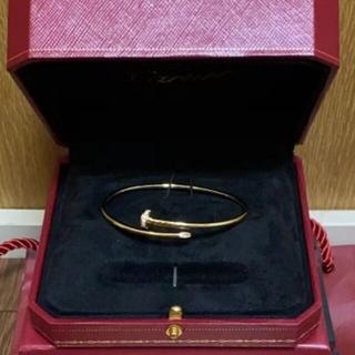 Cartier - 美品!カルティエ ブレスレット ジャストアンクル イエローゴールド
