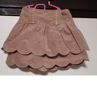ジルスチュアート(JILLSTUART)の美品 ジルスチュアート スカラップ リボン スカート(スカート)