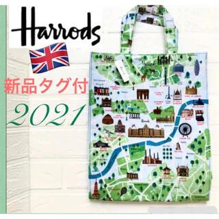 Harrods - 新作 Harrods ハロッズ トートバッグ 裏地付き《新品タグ付》送料無料