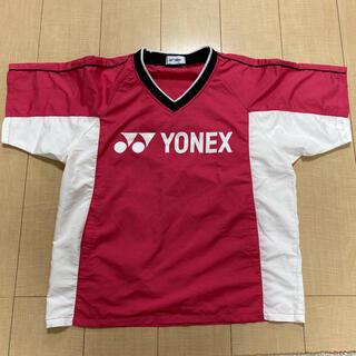 ヨネックス(YONEX)のVブレーカー 半袖 ピンク Sサイズ(Tシャツ/カットソー(半袖/袖なし))