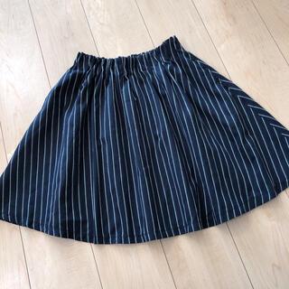 ローリーズファーム(LOWRYS FARM)のローリーズファーム  ストライプ スカート(ひざ丈スカート)
