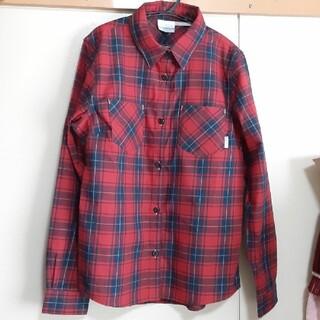 コロンビア(Columbia)のコロンビア チェックシャツ 美品(カットソー(長袖/七分))