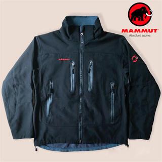 マムート(Mammut)のMAMMUT マムート ジップアップ フリース ジャケット 黒(マウンテンパーカー)