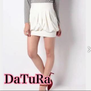 ダチュラ(DaTuRa)のDaTuRa_バルーンスカート(ホワイト)(ミニスカート)