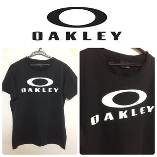 Oakley - OAKLEY オークリー デカ ロゴ トレーニング T シャツ L 速乾