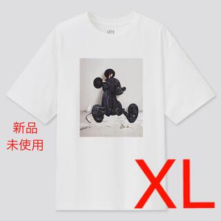 UNIQLO - 新品 ホワイト XL ユニクロ 吉田ユニ ディズニー ミッキー Tシャツ UT