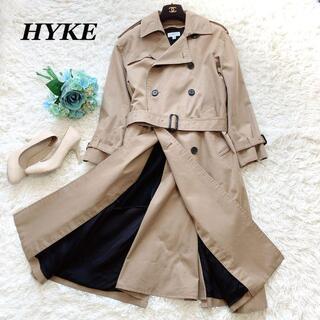 ハイク(HYKE)の良品♡HYKE ロングトレンチコート ライナー付き ビッグフィット 1 S(トレンチコート)