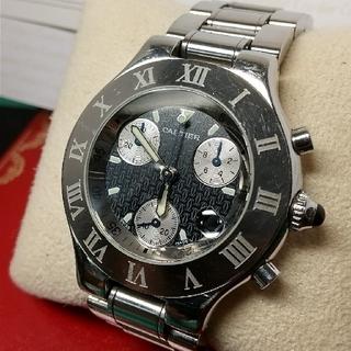 カルティエ(Cartier)のカルティエ  21クロノスカフ(腕時計(アナログ))