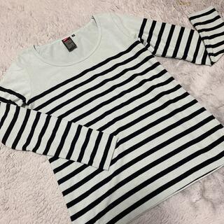 ダブルスタンダードクロージング(DOUBLE STANDARD CLOTHING)のダブスタ プレミアムボーダーロングTシャツ(Tシャツ(長袖/七分))