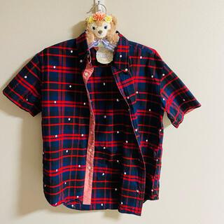トミー(TOMMY)のTOMMY  チェックシャツ Mサイズ(シャツ)