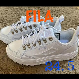 FILA - フィラ FILA スニーカー 白 24.5