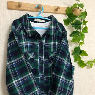 ショコラフィネローブ(chocol raffine robe)のchocol raffine robe ネルシャツチュニック(シャツ/ブラウス(長袖/七分))