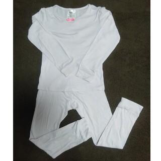 エイチアンドエム(H&M)のH&M パープル ドット柄 長袖 パジャマ 110cm(パジャマ)