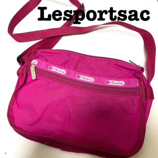 レスポートサック(LeSportsac)のLesportsac ショルダーバッグ ピンク(ショルダーバッグ)