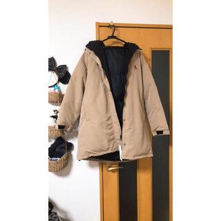 ジーユー(GU)のGU 中綿オーバーサイズコート(ロングコート)