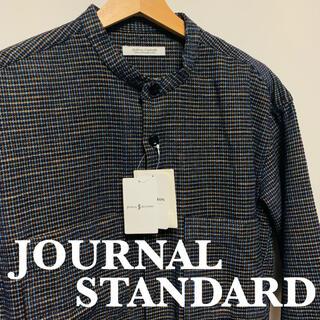 ジャーナルスタンダード(JOURNAL STANDARD)のジャーナルスタンダード チェックシャツ 新品未使用 タグ付き 定価16280円(シャツ)