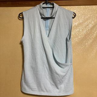 セシルマクビー(CECIL McBEE)のセシルマクビー チョーカー風トップス(カットソー(半袖/袖なし))