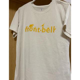モンベル(mont bell)の新品同様mont-bell Tシャツ レディースM(Tシャツ(半袖/袖なし))