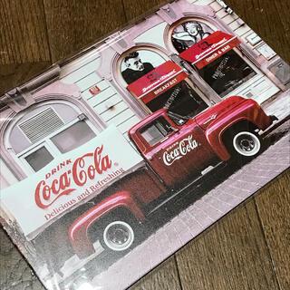 コカコーラ(コカ・コーラ)のコカコーラ デリバリー ブリキ看板(ソフトドリンク)