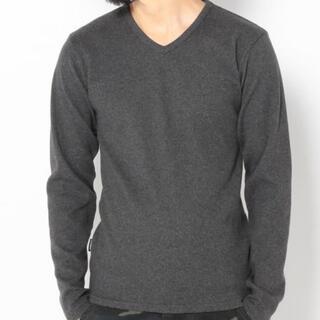 アヴィレックス(AVIREX)の新品アヴィレックスSサイズVネック定番ロンティー!(Tシャツ/カットソー(七分/長袖))