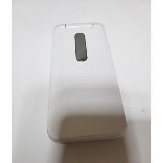 エーユー(au)のauガラホグラティーナ4G携帯電話現状品送料無料SIMロック解除済み(携帯電話本体)
