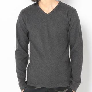 アヴィレックス(AVIREX)の新品アヴィレックスMサイズVネック定番ロンティー!(Tシャツ/カットソー(七分/長袖))
