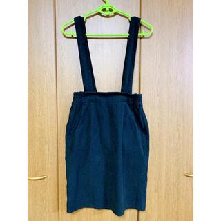 ローリーズファーム(LOWRYS FARM)の黒のタイトスカート(ひざ丈スカート)
