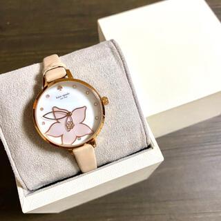 kate spade new york - 【美品!!】ケイトスペード サクラ腕時計 ピンク シェル調 秋 ハロウィン🎀