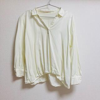 ショコラフィネローブ(chocol raffine robe)のスキッパーブラウス(シャツ/ブラウス(長袖/七分))