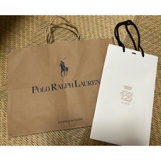 ポロラルフローレン(POLO RALPH LAUREN)のラルフローレン ポールスミス ショップ袋 2点セット(ショップ袋)