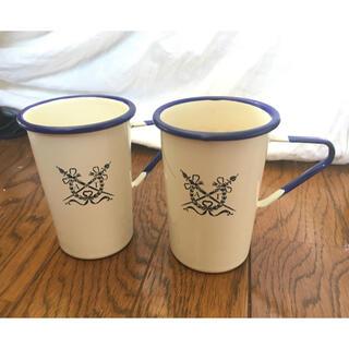 アフタヌーンティー(AfternoonTea)の【Afternoon Tea】アフタヌーンティー ホーローマグカップ(グラス/カップ)