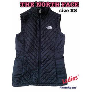 ザノースフェイス(THE NORTH FACE)のTHE NORTH FACE ノースフェイス ダウンベスト ベスト 暖かい 黒(ダウンベスト)