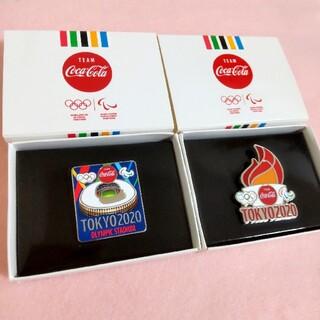 コカ・コーラ - 東京オリンピック2020  ピンバッジ コカ・コーラ