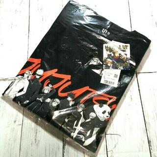 UNIQLO - 新品 未使用 タグ付き 呪術廻戦 UNIQLO コラボ Tシャツ ブラック L