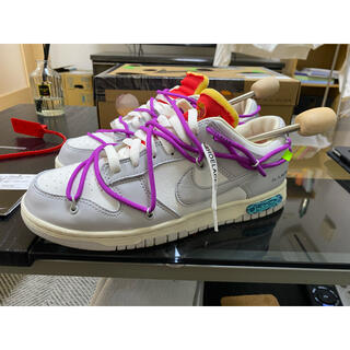 """OFF-WHITE - OFF-WHITE × NIKE DUNK LOW 1 OF 50 """"45"""""""