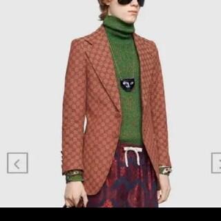 グッチ(Gucci)の定価35万 激レア 19ss GUCCI gg柄 テーラードジャケット (テーラードジャケット)