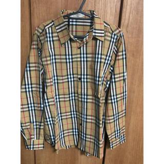 バーバリー(BURBERRY)のBurberry バーバリー長袖Tシャツ ロン L(ポロシャツ)