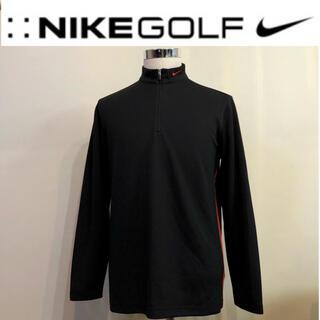 NIKE - ナイキゴルフ 長袖 ロング ウェア FIT-DRI ブラック  Lサイズ