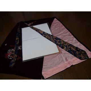KIMIJIMA COLLECTIONのネクタイ ネイビー ゴールド 日本製 。(ネクタイ)