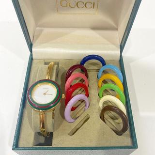 Gucci - GUCCI チェンジベゼル 腕時計グッチ