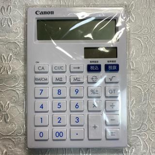 キヤノン(Canon)のCanon 抗菌中型卓上電卓 12桁(オフィス用品一般)