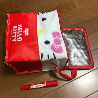 サンリオ(サンリオ)のハローキティ2012郵便局ノベルティ・レア保冷バッグ・小物入れ【値下げ不可】(ノベルティグッズ)