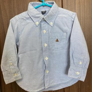 ベビーギャップ(babyGAP)のbaby gap シャツ 90 長袖 長袖シャツ カッターシャツ babygap(ブラウス)