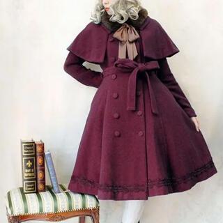 ヴィクトリアンメイデン(Victorian maiden)のケープ付ロリーナコート victorian maiden ヴィクトリアンメイデン(チェスターコート)