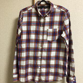 ロデオクラウンズワイドボウル(RODEO CROWNS WIDE BOWL)のRCWB ネルシャツ チェックシャツ(シャツ/ブラウス(長袖/七分))