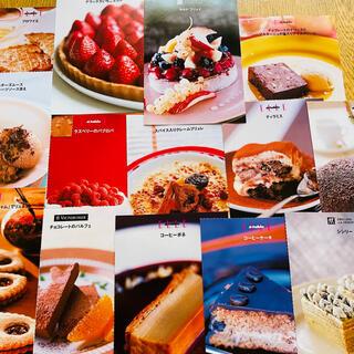 スイーツレシピカード(料理/グルメ)