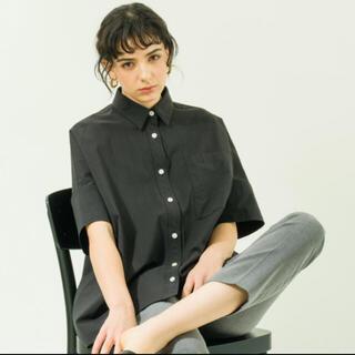 DEUXIEME CLASSE - YONFA big box shirt(Black)ビックシャツ ユニセックス